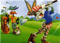 wallpaper bugs bunny and roger rabbit cartoon