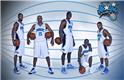 wallpaper Orlando Magic 2010 Starting Five